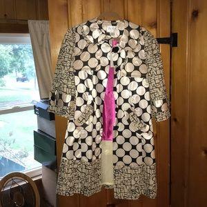 An Ren unique polka dot alphabet fallspring jacket